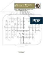 cyberbullying crossword