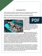 Vermiculture Part 1