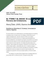 Comentario El Titete y El Enano, S. Zizek