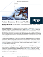 Natural Disasters_—Evidence That God Is Cruel_
