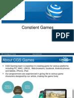 CGS Gaming Service-V 1.0
