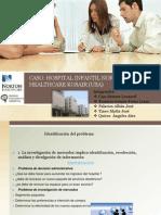 FORMULACIÓN DEL DISEÑO DE INVESTIGACIÓN CASO HOSPITAL INFANTIL