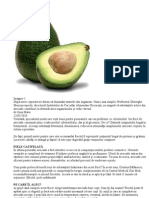 Avocado Fruct de Virilitate