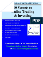 10 Secrets to Online Trading & Investing