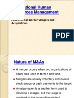 HRM in Mergers & Acquisitions - Copy