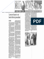 Lawyers hope to set land reform precedent