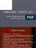 Language Choice (s1)