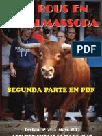 2012 Octubre RED Revista nº 21 2ª PARTE COLOR (Editada en Mayo 2013)