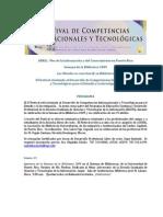 Festival de Competencias InfoTecno EGCTI2009