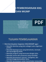 Supervisi Pemberdayaan Kkg Dan Mgmp