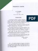 Cortot - Chopin Etudes Op.25 (Student's Edition)
