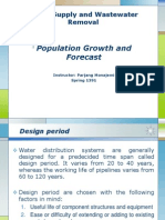 1 Population Growth and Forecast