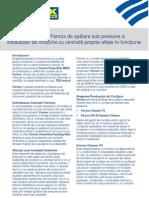Procedura 3 - Procedura Fernox de Spalare Sub Presiune