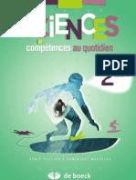 Sciences et compétences au quotidien 2e année