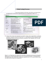 Ch11 Metal Casting Processes