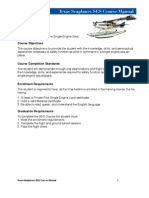 Seaplane Course Manual