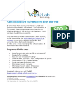 Come si fa ad aumentare le prestazioni di un sito web?