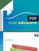 Trust Eduworld Brochure-education consultant, hyderabad - international student recruitment   spot interview tours for universities