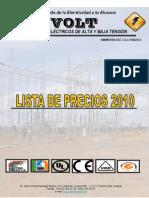 Precios 2010