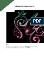 Caligrafía brillante efecto de texto en Photoshop.pdf