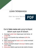 Ujian tatabahasa