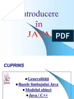 Introducere in Java
