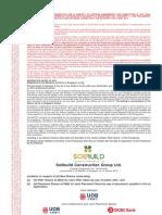 2.3.01 Preliminary Prospectus Dated 10 May 2013 (Soilbuild Construction Group Ltd.)