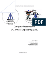 JirmaN Engineering PROIECT ENGLEZA