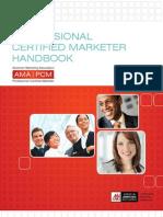 Www.marketingpower.com Careers Documents AMA-PCM-Handbook