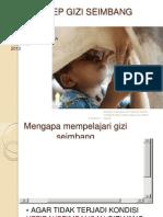 Bab III Gizi-seimbang 2013