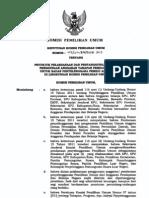 Keputusan KPU No 405 Tahun 2013