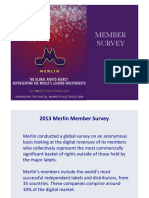 2013 Merlin Survey