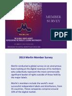 2013 Merlin Survey