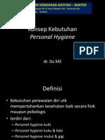 08 Konsep Kebutuhan Personal Hygiene