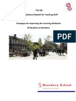The 5 Rs Guidance Booklet
