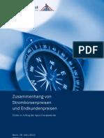 Agora Studie Stromboersen-Endkundenpreise EnergyBrainpool V1!1!28032013