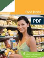 Foodlabelling Brochure