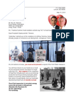 Drumbeat Rex & Barack 13-05-15 Civil Action