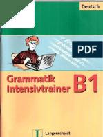 Langenscheidt Grammatik Intensivtrainer B1