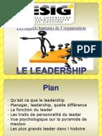 Leadership_aspect Humain de l'Organisation