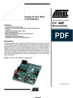 Battery Charger Using Atmel MCU