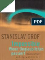 Grof, Stanislav - Impossible - Wenn Unglaubliches Passiert (Deutsch - German)
