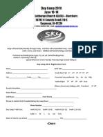 2013 Daycamp Registration Forms