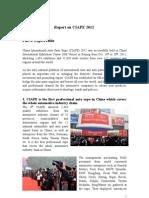 CIAPE 2012 Post-Show Report