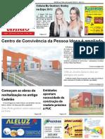 Jornal União - Edição de 23 de Abril à 09 de Maio de 2013