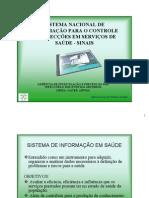 Sistema de Informação em Vigilancia Sanitaria - RESUMO
