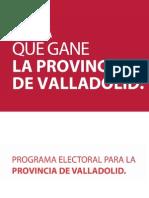 PSOE-Valladolid-Programa Valladolid provincia.pdf