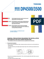 Toshiba - DP4500 3500 Service Manual (259 Pages)