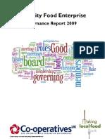Governance of Community Food Enterprises