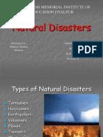 3 Natural Disasters